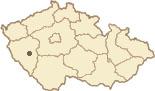 Mapa ČR - poloha obce Dolní Lukavice