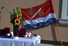 Slavnost otevření obecního úřadu v Dolní Lukavici