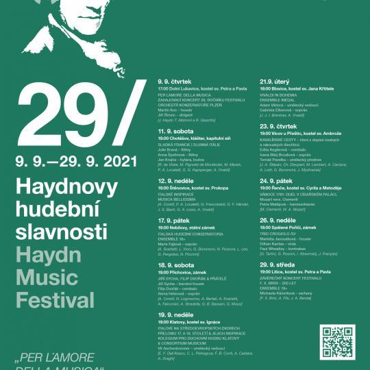 29. Haydnovy hudební slavnosti  2