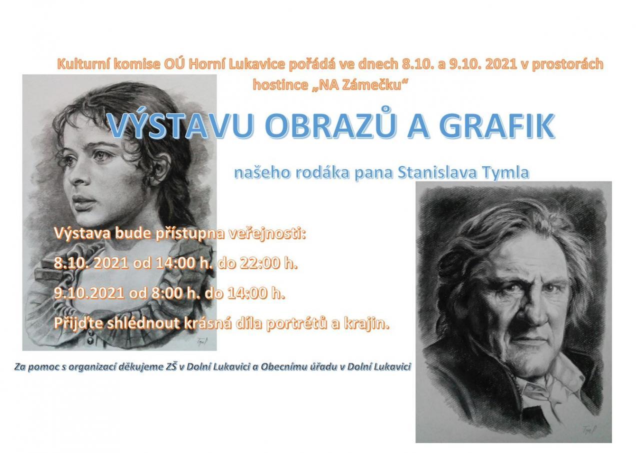 Výstava obrazů a grafik