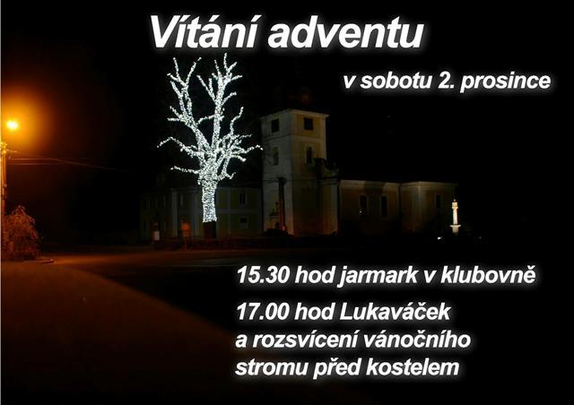 Vítání adventu 1