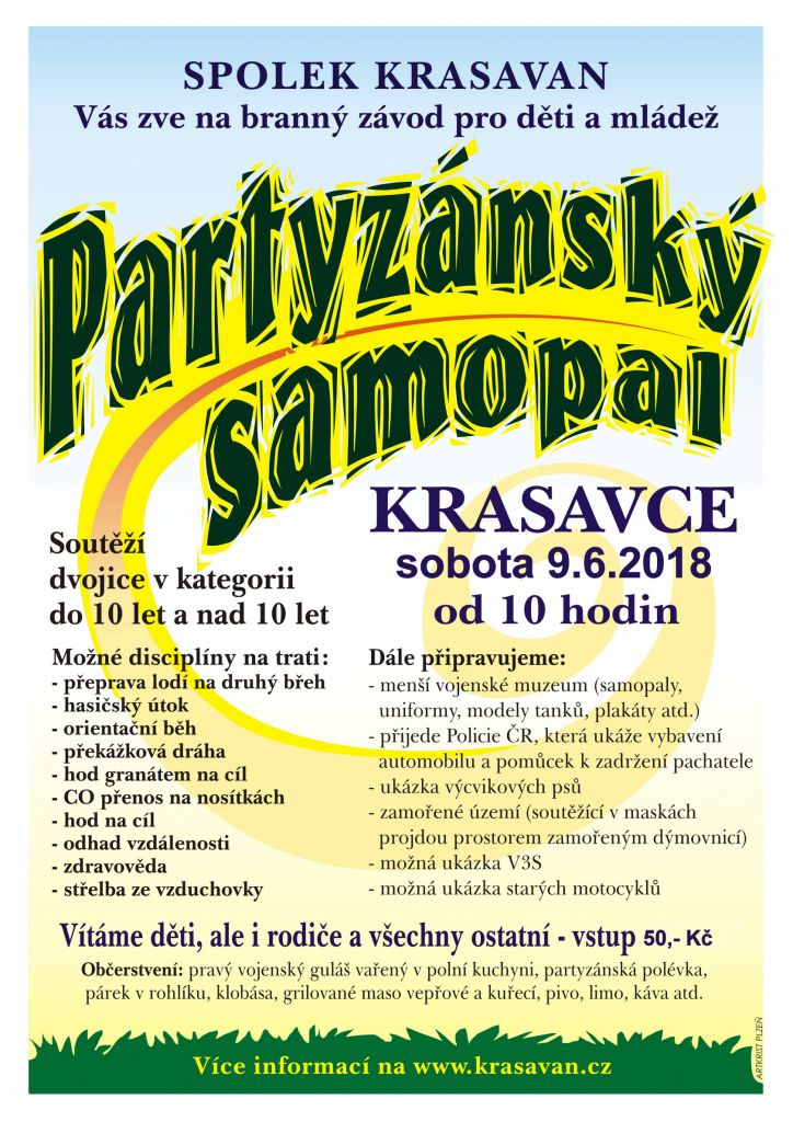 Partyzánský samopal 2018