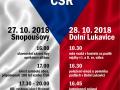 Oslavy 100 let ČSR Dolní Lukavice