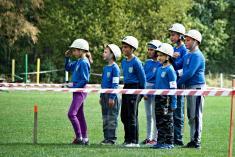 Dětská hasičská soutěž 15. 9. 2018