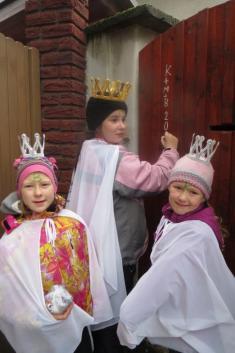 Tříkrálové koledování V Dolní Lukavici a  Lišicích