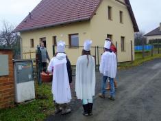 Tříkrálová sbírka v Dolní Lukavici 5. 1. 2014