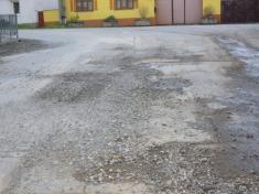 Krupobití v Dolní Lukavici 2. 5. 2012