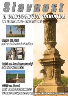 Slavnost uobnovených památek 30.6.2012