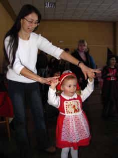 Dětský maškarní karneval foto: Radek Hora