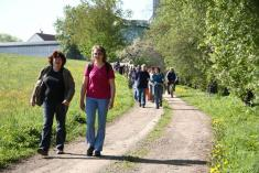 Procházka za lukavickými světci 7. 5. 2011