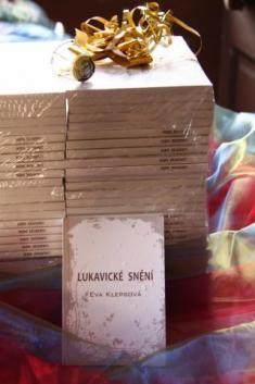 Křest knihy Lukavické snění, autorka Eva Klepsová