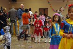 Dětský maškarní karneval 31. 1. 2009