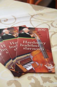 Haydnovy hudební slavnosti - zahájení 11.9.2009