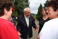 Setkání rodáků Snopoušovy 2008
