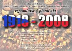90. výročí vzniku ČSR 27.10.2008