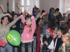 Dětský maškarní karneval 2007