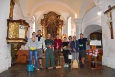 Brigáda v lukavickém kostele