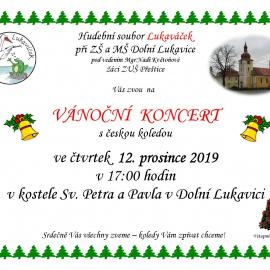 Vánoční koncert s českou koledou