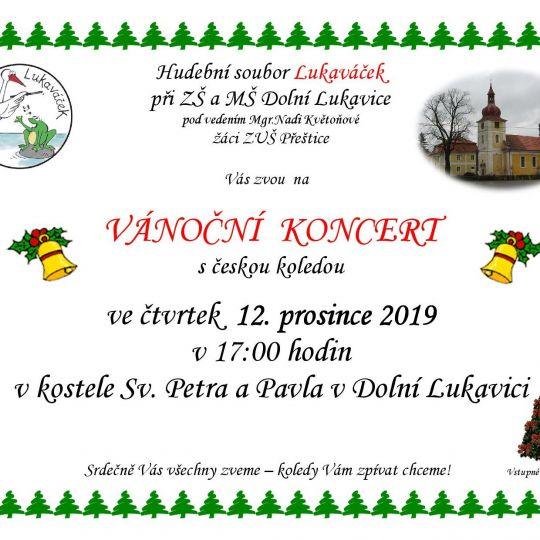 Vánoční koncert s českou koledou 1