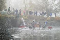 Výlov lišického rybníka