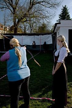 Lukostřelecký turnaj v Dolní Lukavici