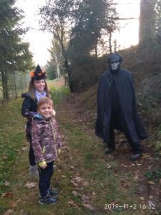 Halloweenské odpoledne v Lišicích
