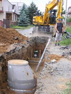 Vodovod, kanalizace