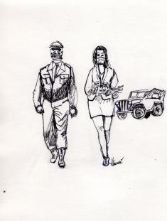 Osvobození v kresbách Václava Hlaváče