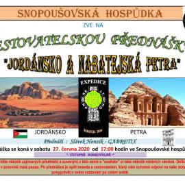 Jordánsko a Nabatejská Petra 1
