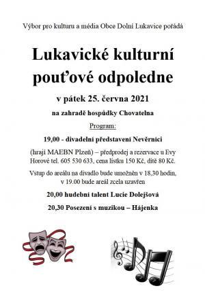 Lukavické kulturní pouťové odpoledne 1